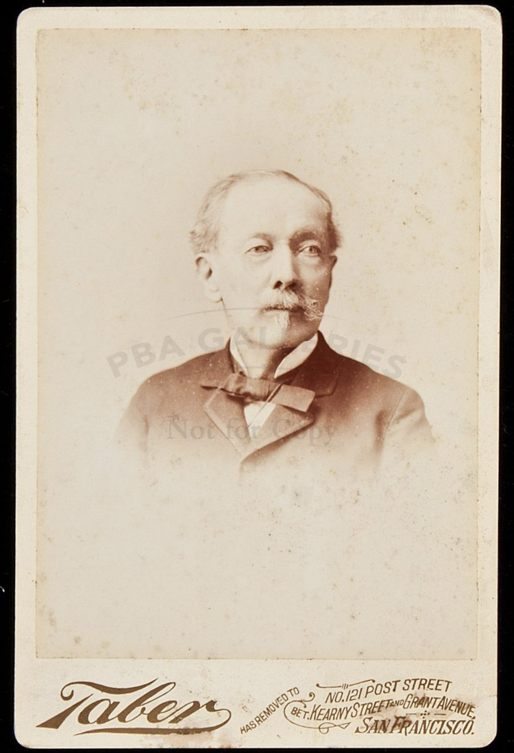 8: Cabinet card of an American dr in Hong Kong