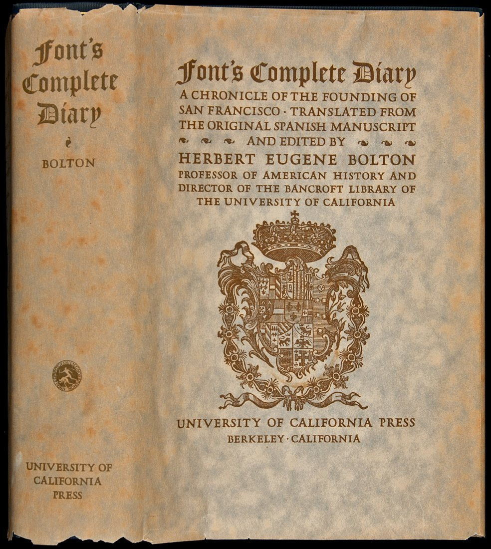 20: Font's Complete Diary 1st w/dj
