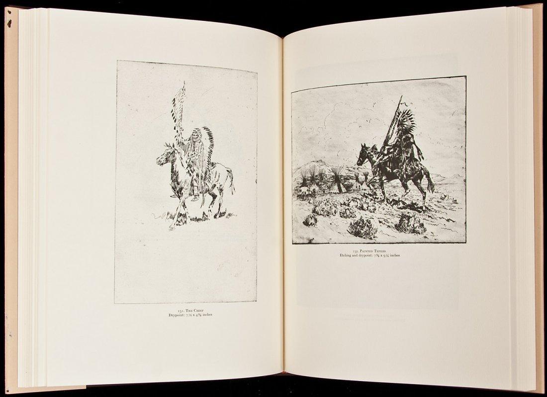 22: Etchings of Edward Borein-John Howell in dj