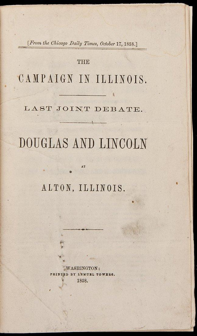 168: Last Lincoln Douglas Debate