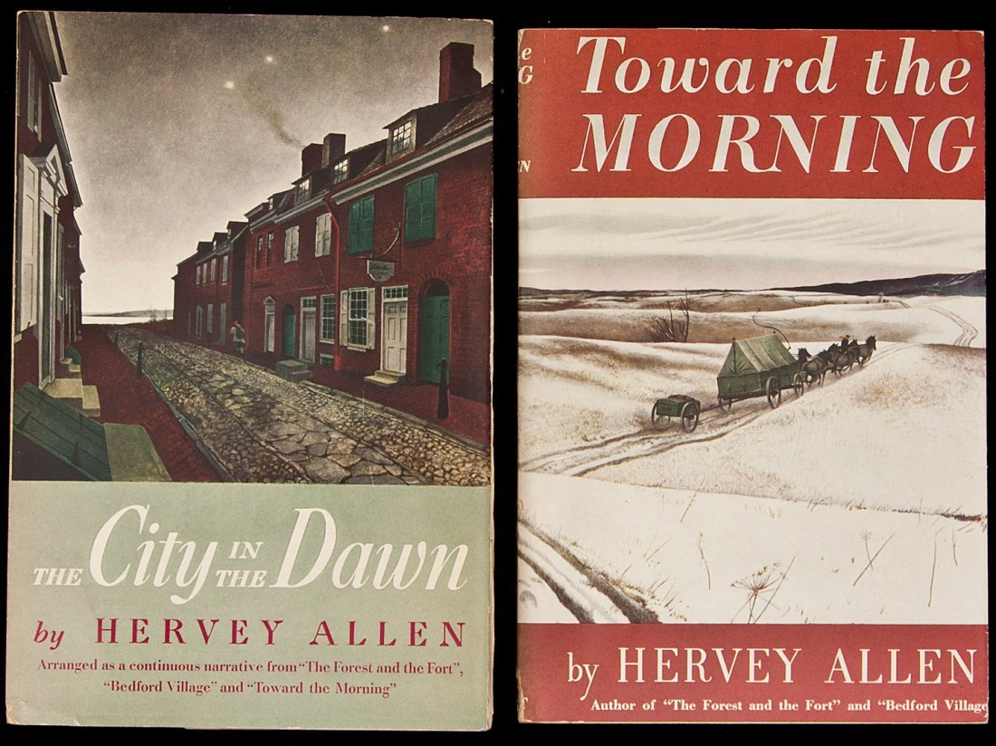 2: Advance copies of two novels by Hervey Allen