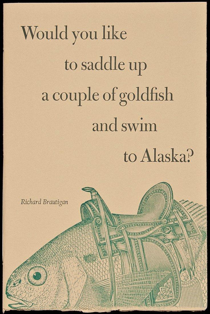 8: Brautigan Saddle Up a Couple of Goldfish 1/50