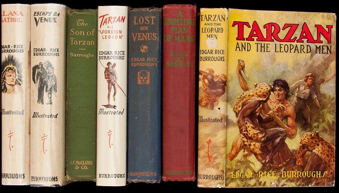 11: Seven novels by Edgar Rice Burroughs