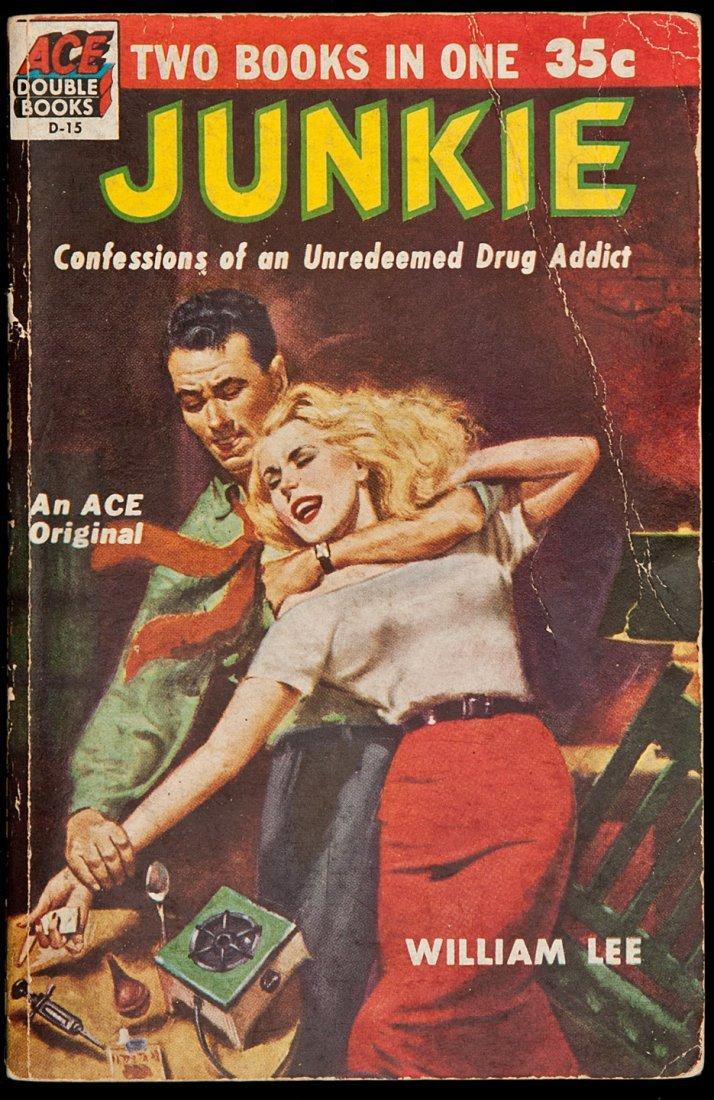 13: William Burroughs Junkie Ace Double Books Edition