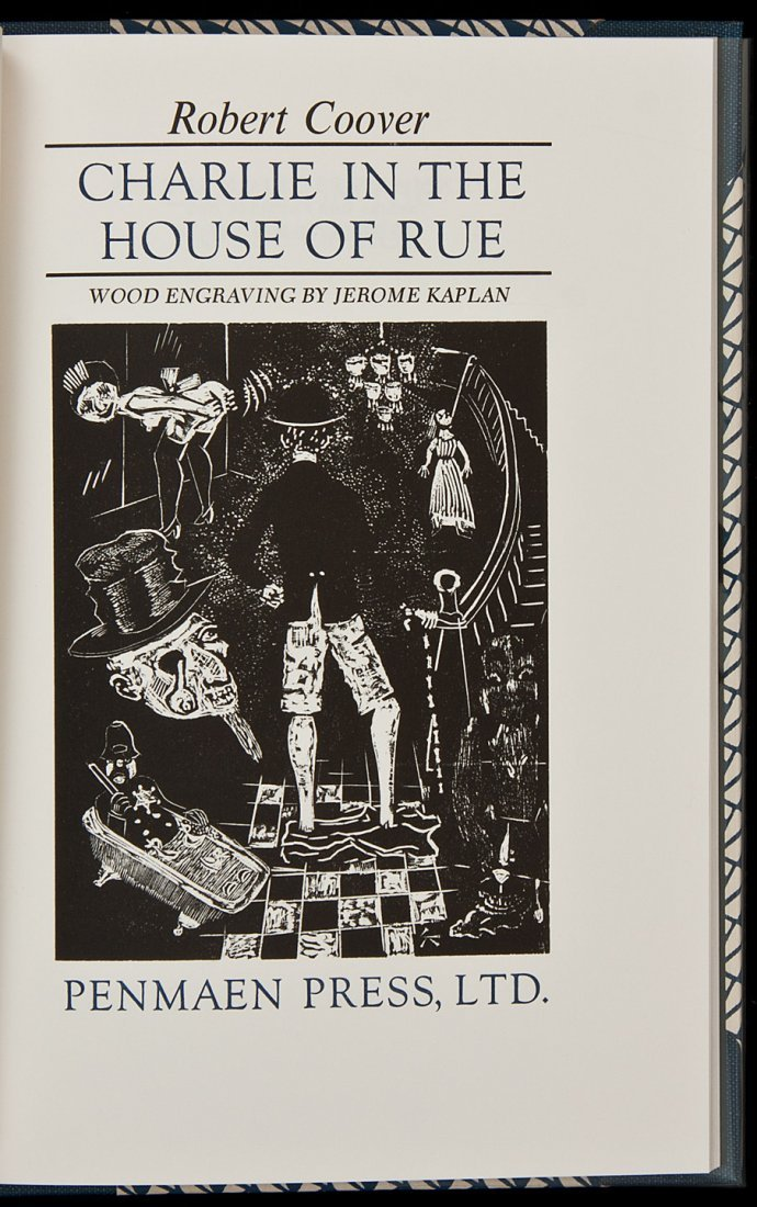 17: Charlie in the House of Rue by Robt. Coover