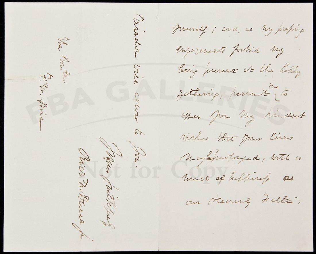 18: ALs from Richard Henry Dana 1868