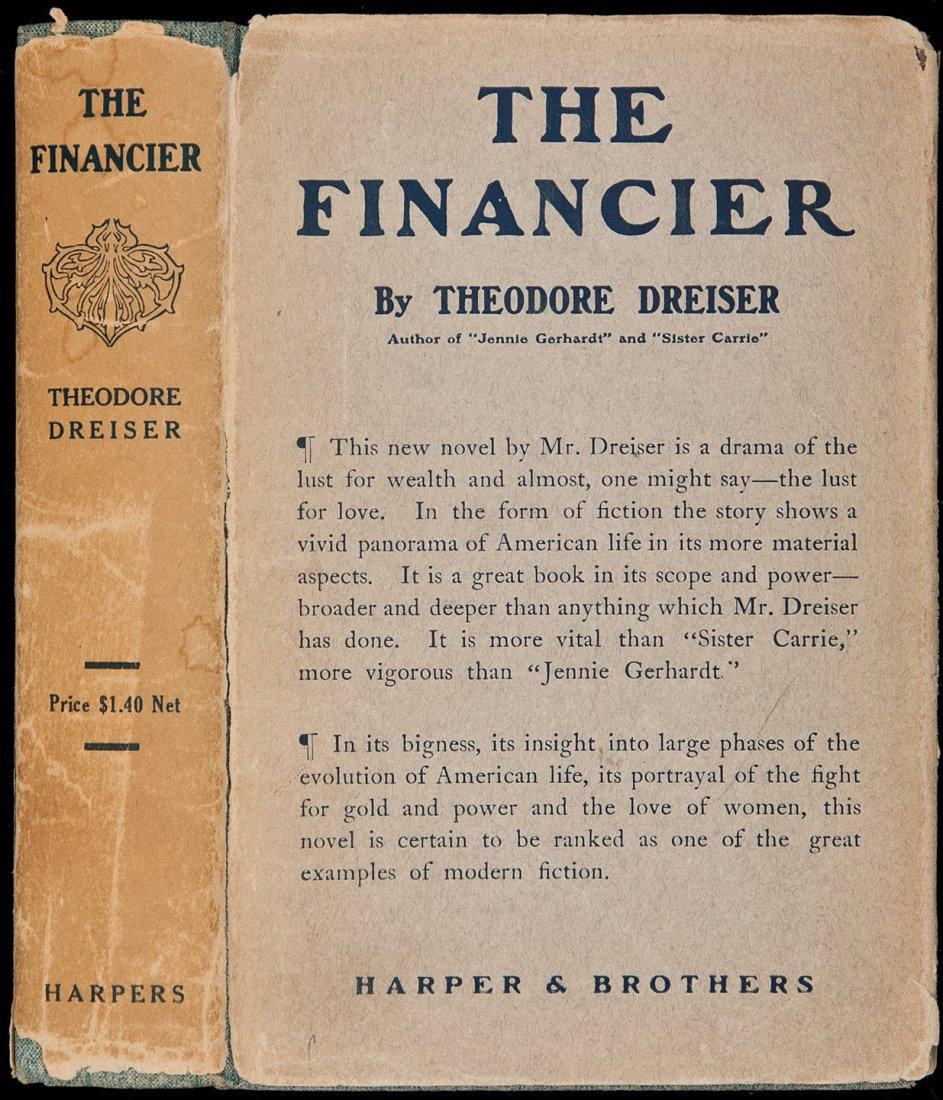 23: Theodore Dreiser The Financier in rare DJ