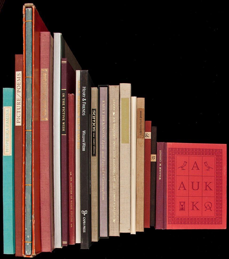 331: Eighteen volumes of fine press