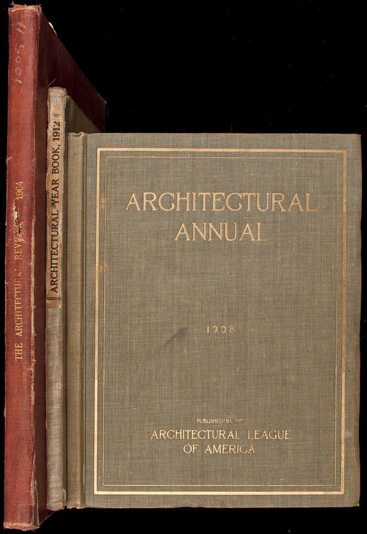 2: Three volumes on American architecture
