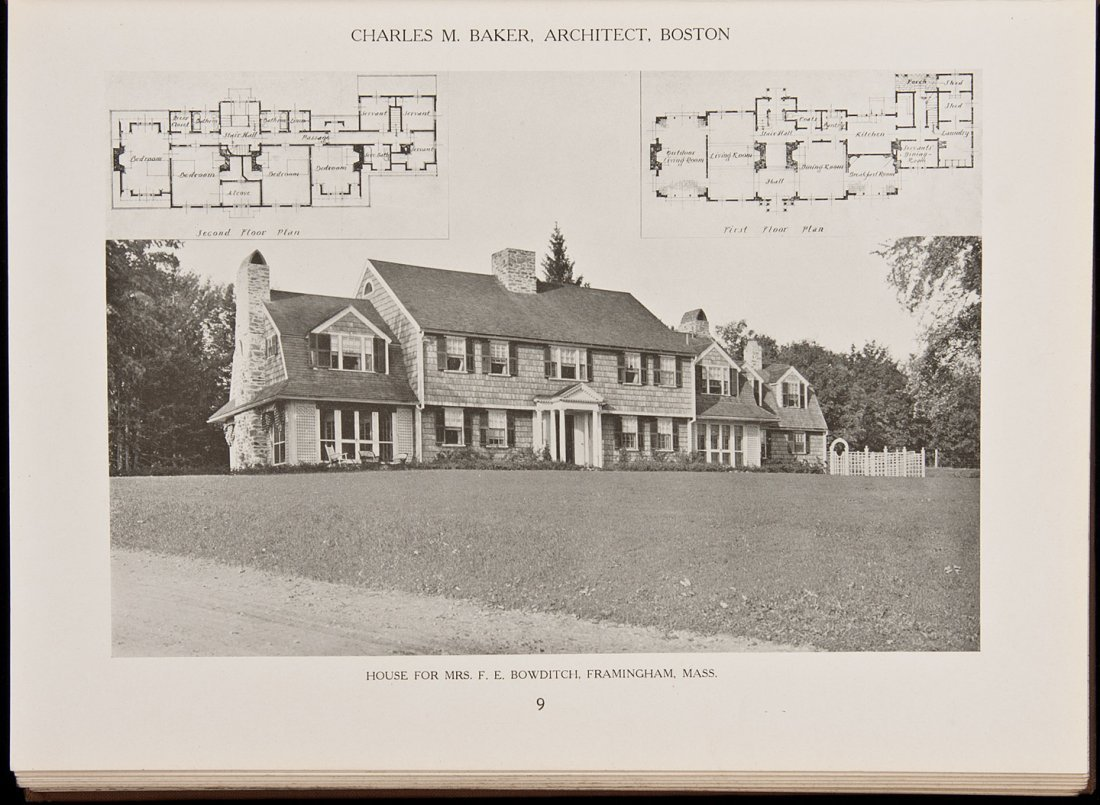 7: American Country Houses of Today 1917
