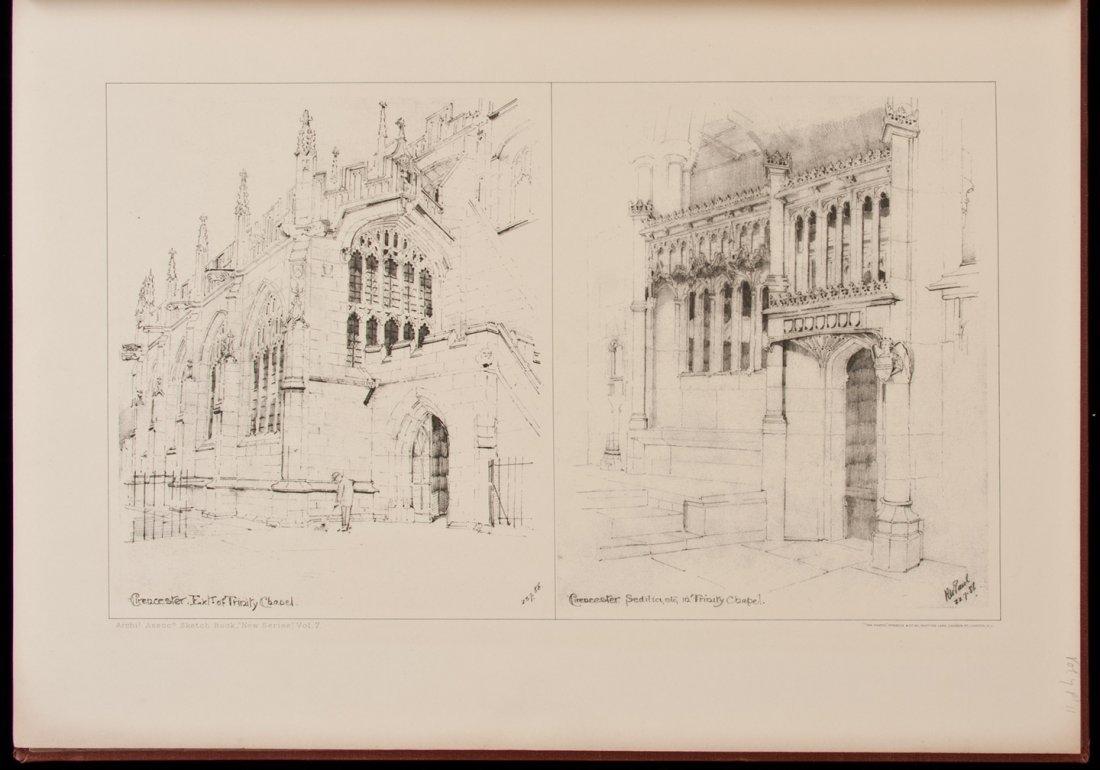 10: Architectural Association Sketch Book vols 1-12