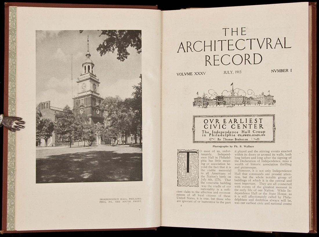 12: The Architectural Record - 24 volumes of bound is