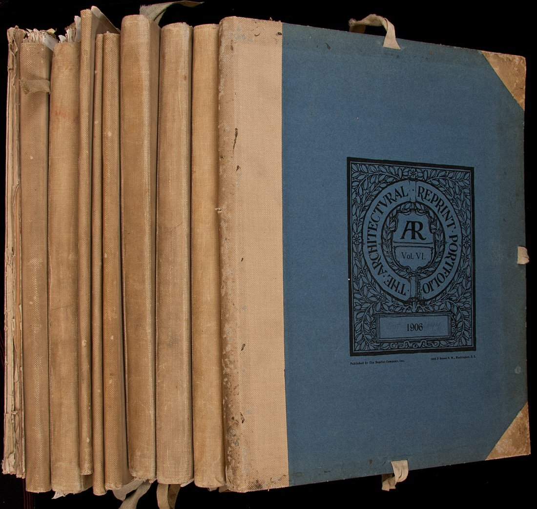 13: The Architectural Reprint, Volumes 1-10