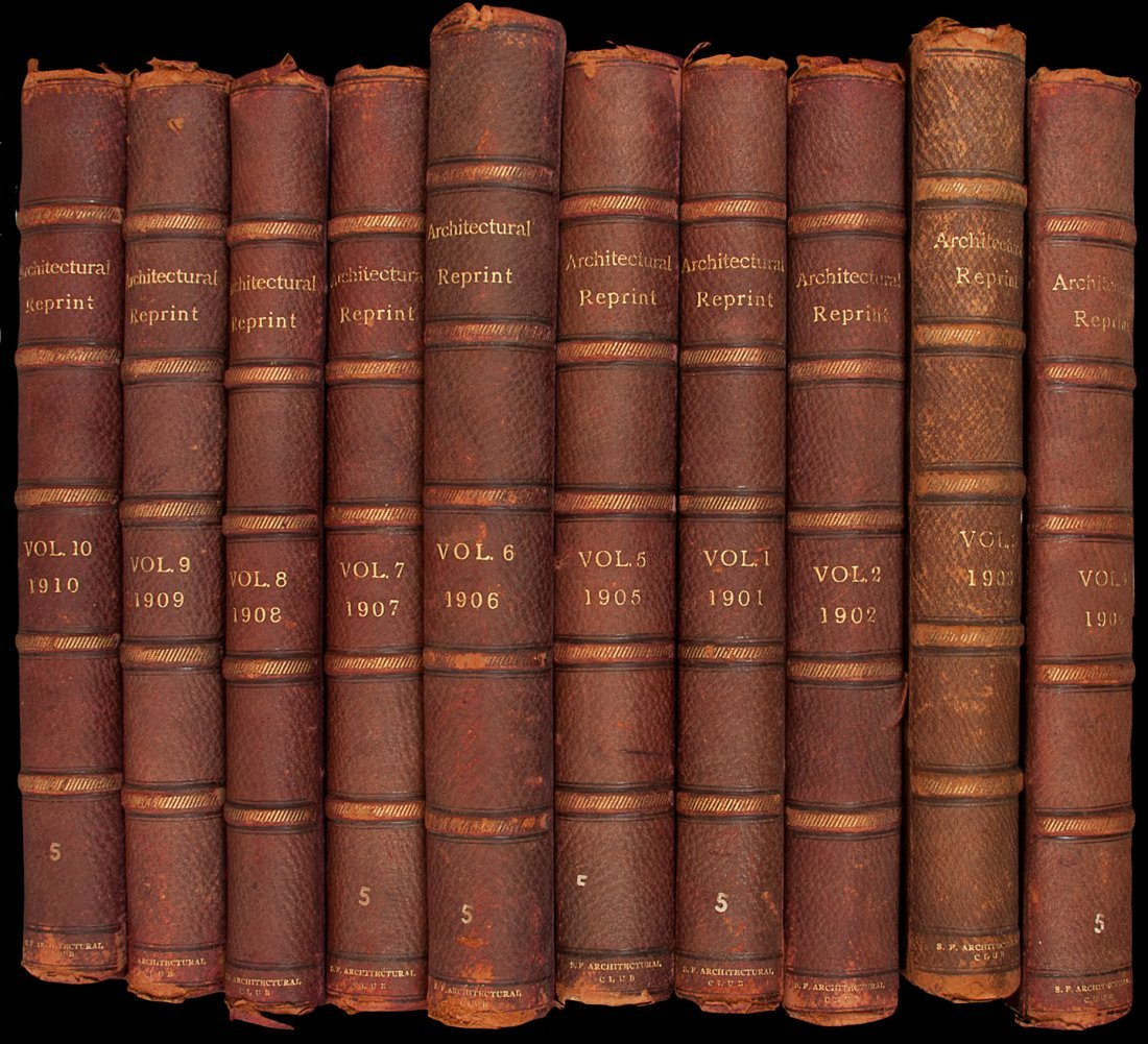 14: The Architectural Reprint, Volumes 1-10