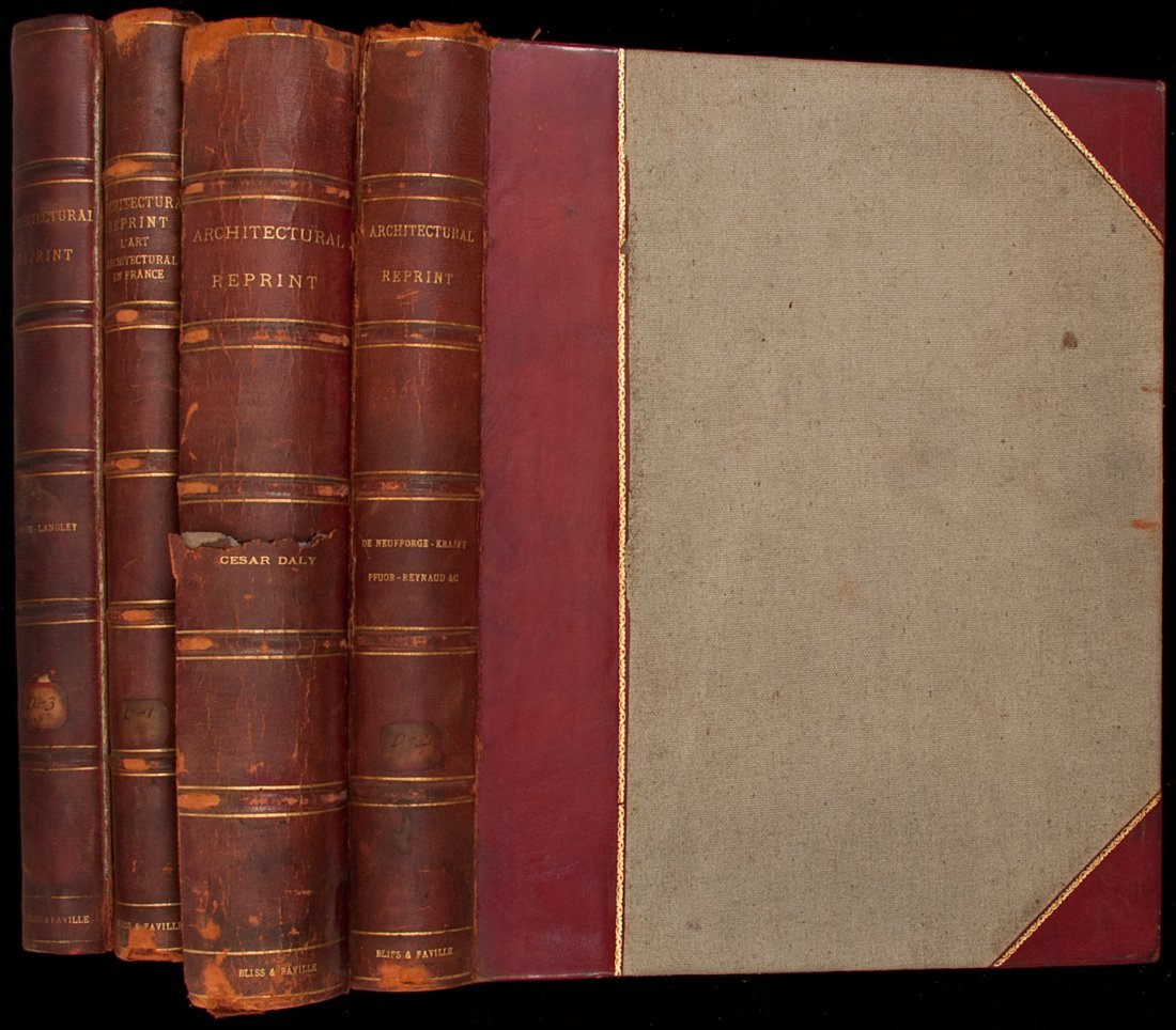 15: The Architectural Reprint - bound in four volumes