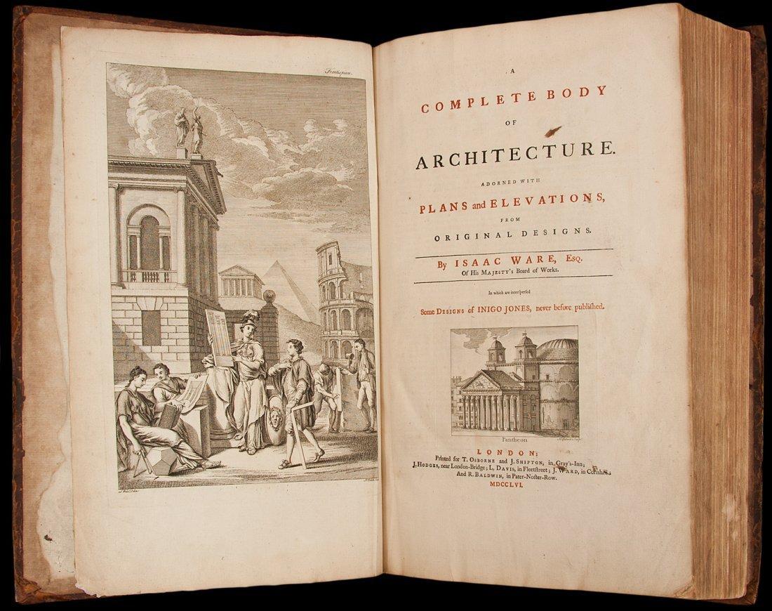 178: Ware's Complete Body of Architecture 1756