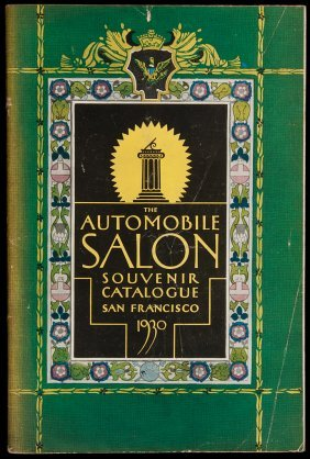 5: Automobile Salon in SF 1930 souvenir catalogue