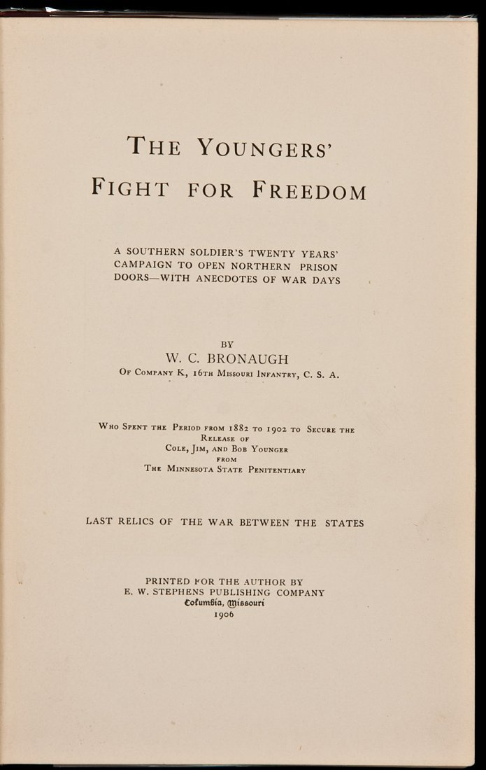 13: The Youngers' Fight for Freedom