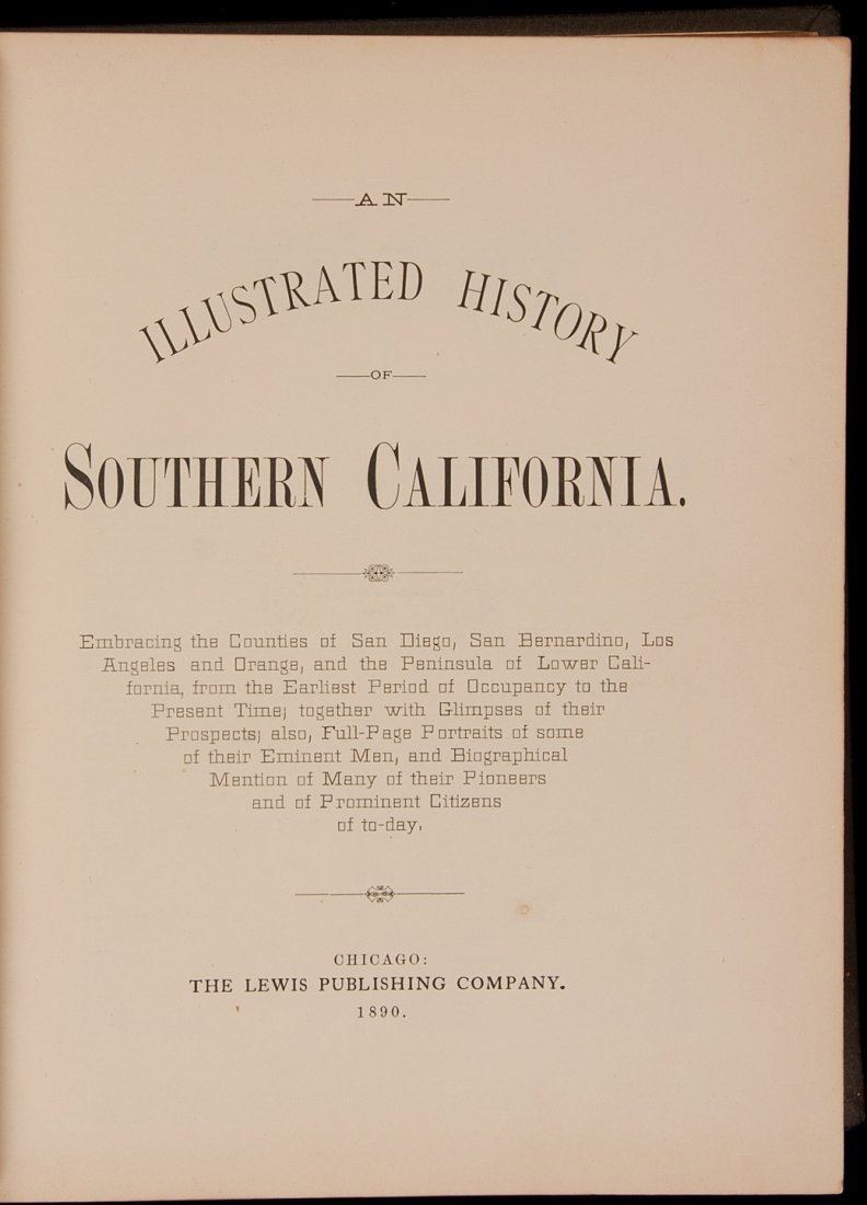 17: An Illustrated History of Southern California