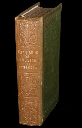 A Handbook of Angling by Ephemera 1848 2nd Edn