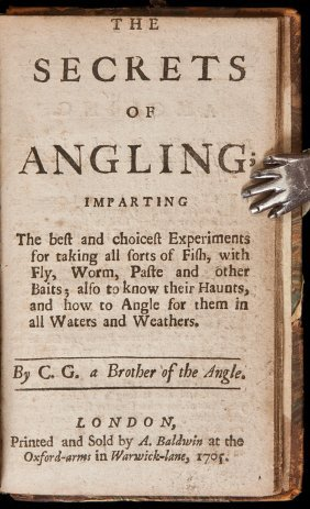 A Family Jewel 1704 Art of Angling Improved