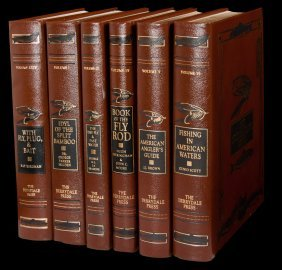 24 volumes from the Flyfisherman's Gold Library