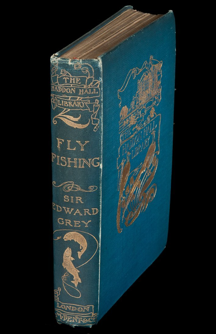 Edward Grey Fly Fishing Haddon Hall Library