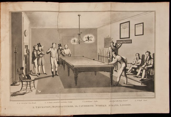 Mingaud's Noble Game of Billiards 1830