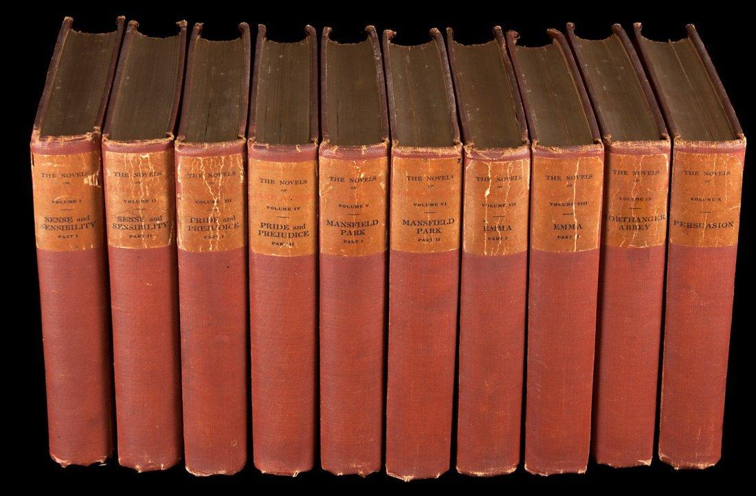 Austen's Novels 10 volumes 1/1000 sets