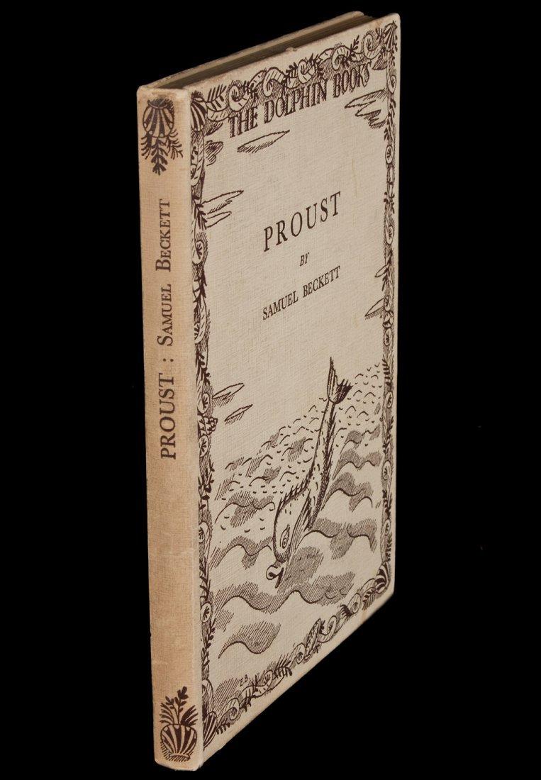 Samuel Beckett Proust First Edition
