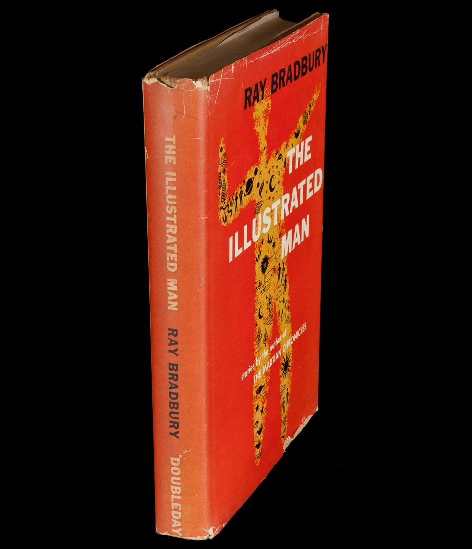 Bradbury's Illustrated Man  1st ed w/dj