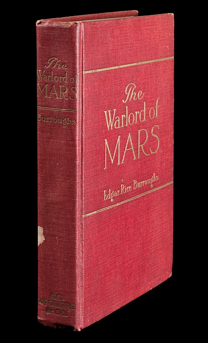 Edgar Rice Burroughs The Warlord of Mars
