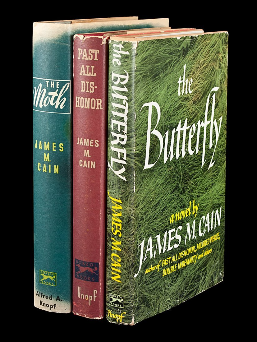 Three first editions by James M. Cain