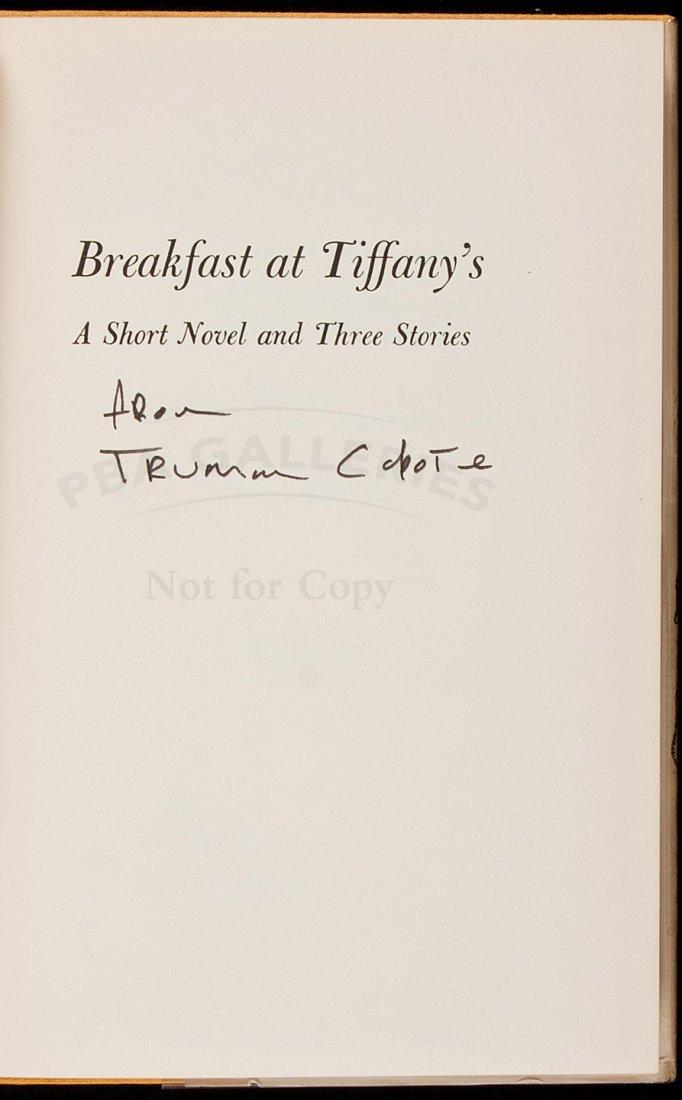 Truman Capote Breakfast at Tiffany's 1st in dj