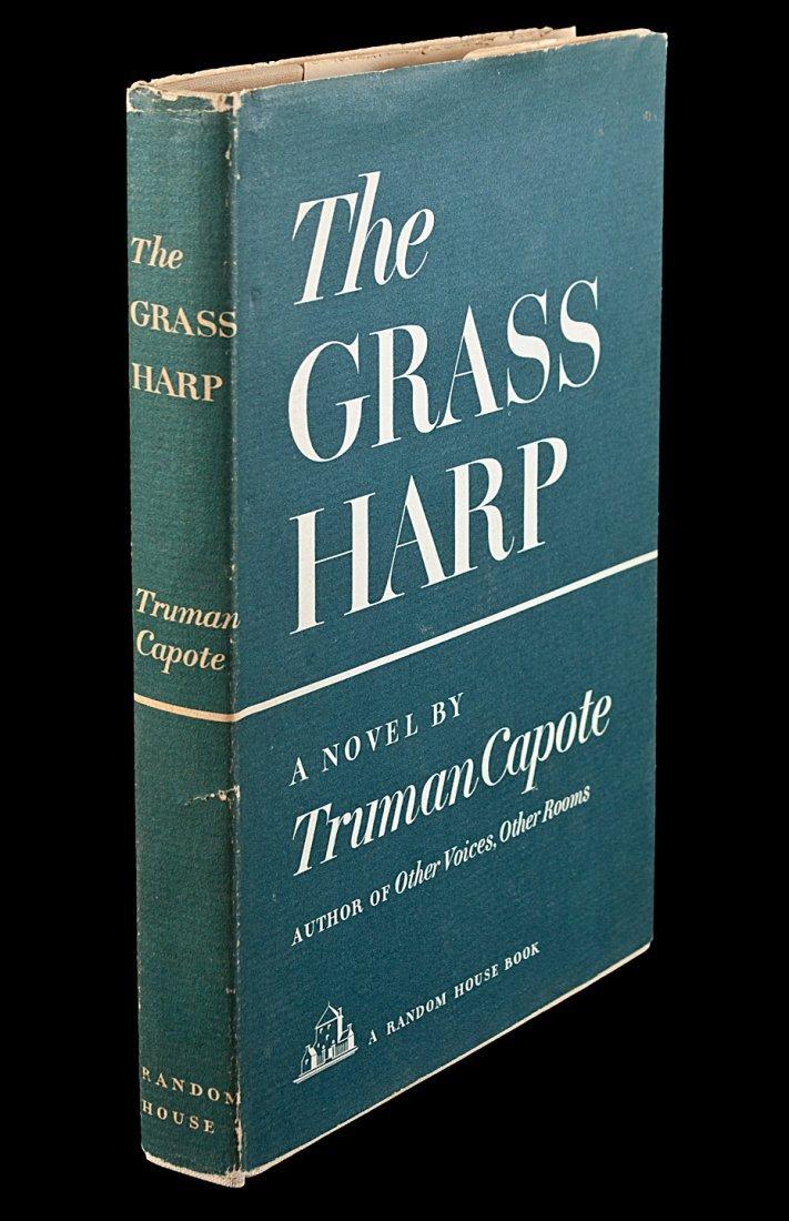 Truman Capote The Grass Harp 1st Edition