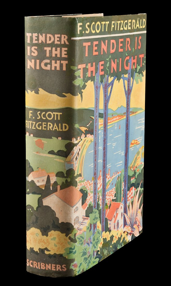 Fitzgerald, Tender is the Night 1st edition in dj