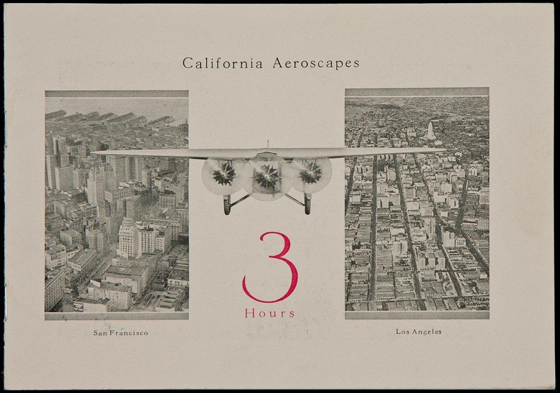 California Aeroscapes booklet