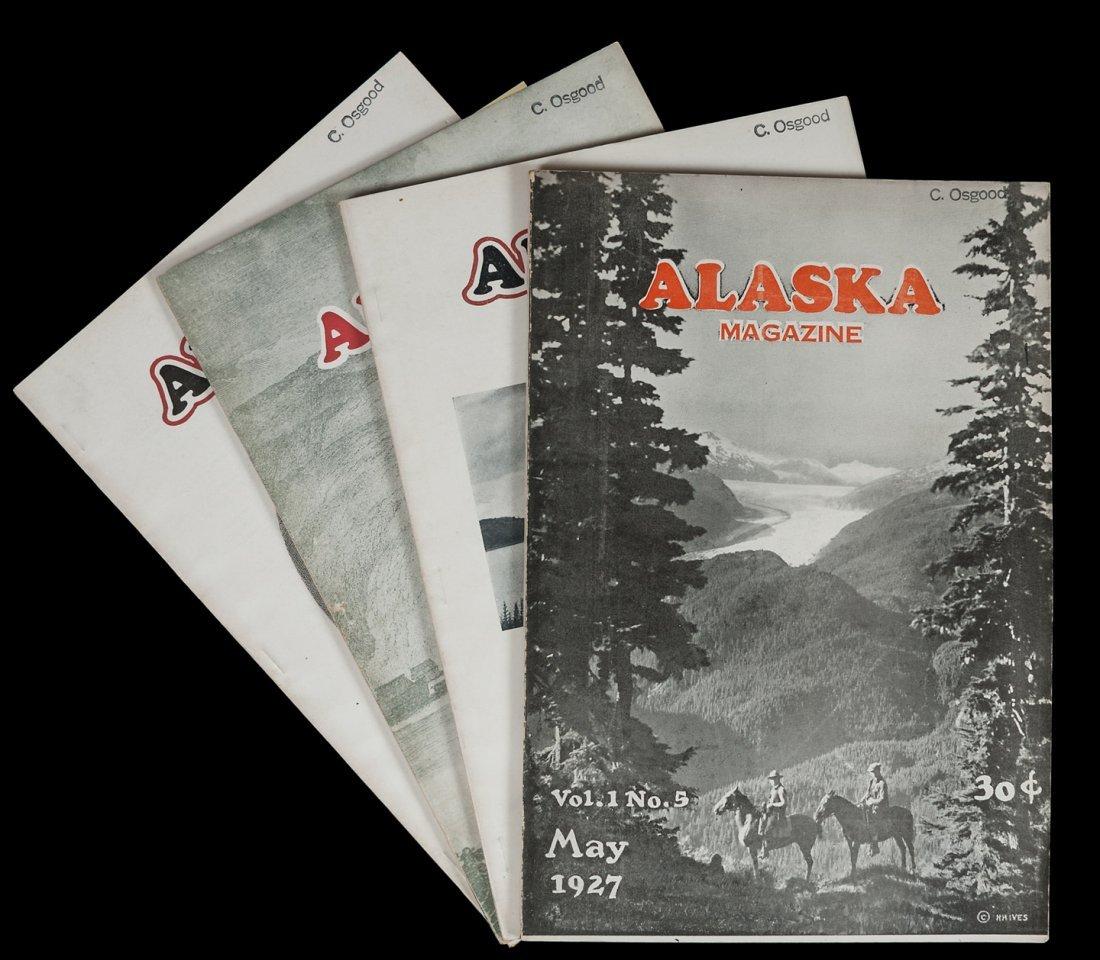Alaska Magazine - Volume 1, Numbers 2-5