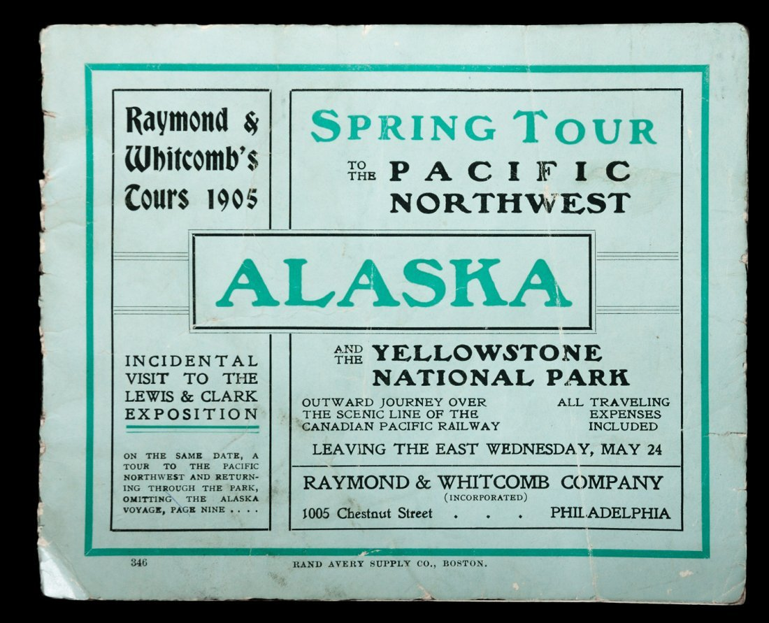 Spring Tour to the Pacific Northwest, Alaska 1905