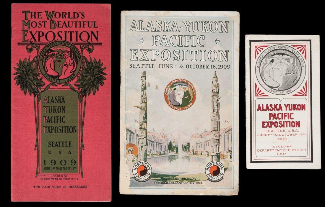 Alaska-Yukon-Pacific Exposition, 1909 ephemera