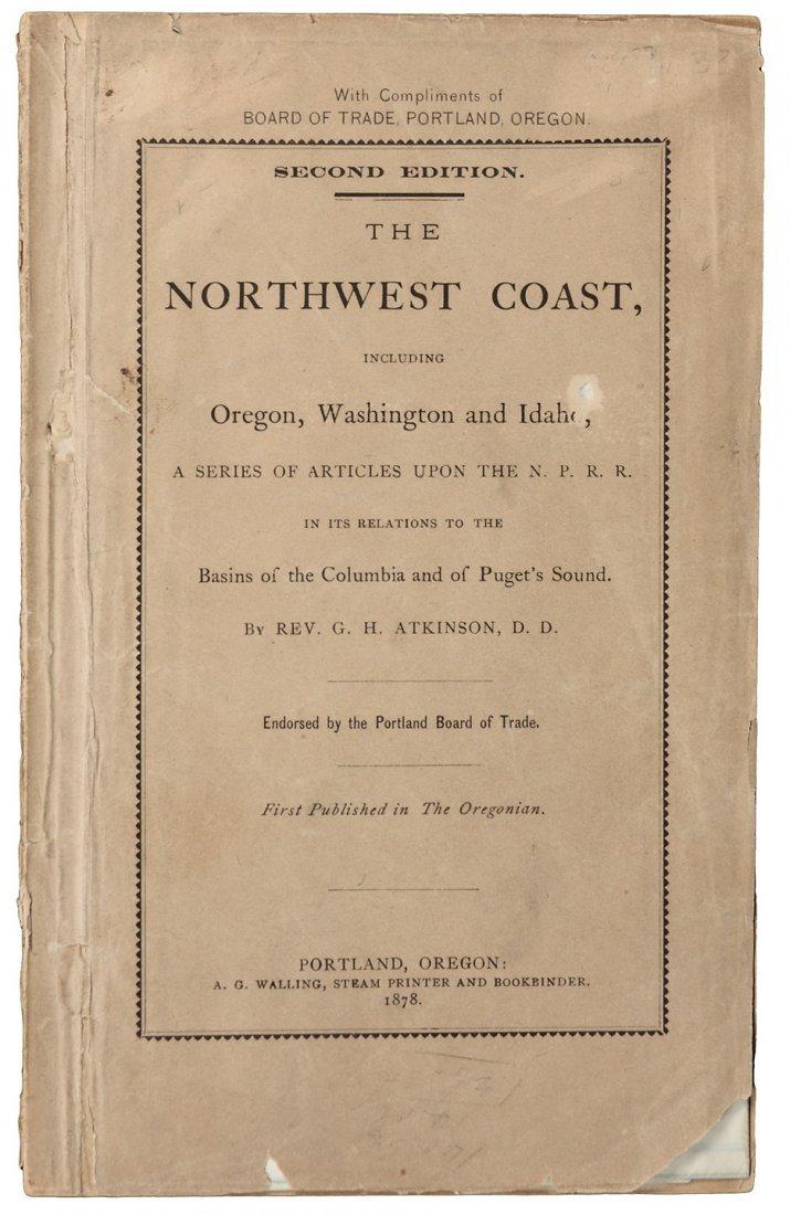 The Northwest Coast, including Oregon, Washington