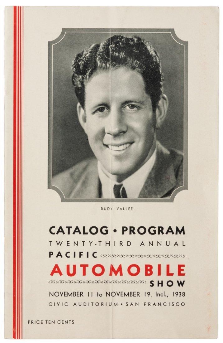 Auto Show at S.F. Civic Auditorium 1938