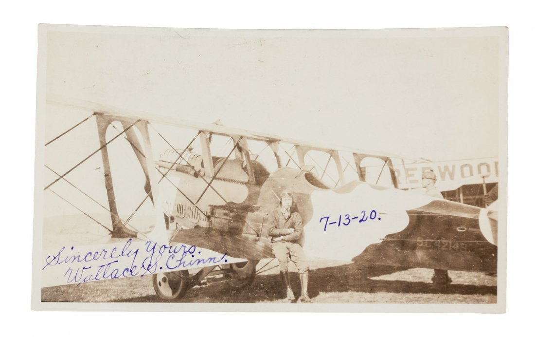 1920 Chinese-American Pilot in Redwood City