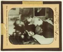 1905 ca. lantern slide of a smoker SF opium