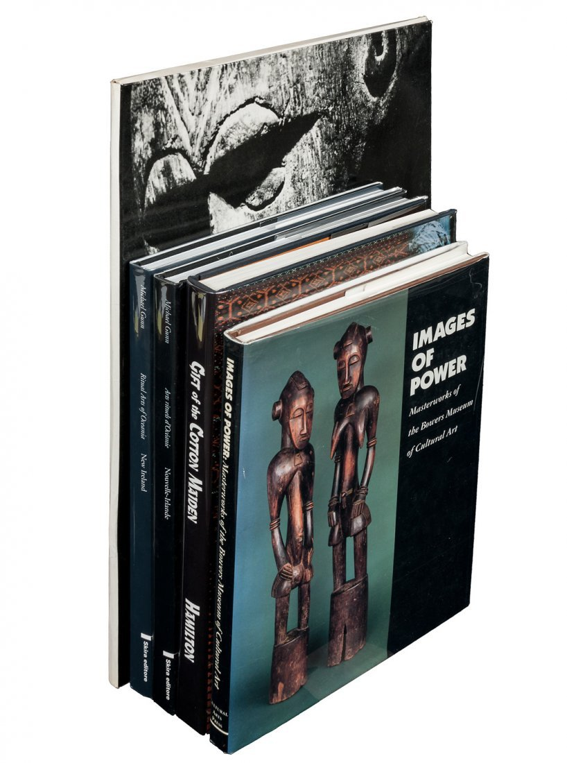 5 volumes of art & photography of the South Seas