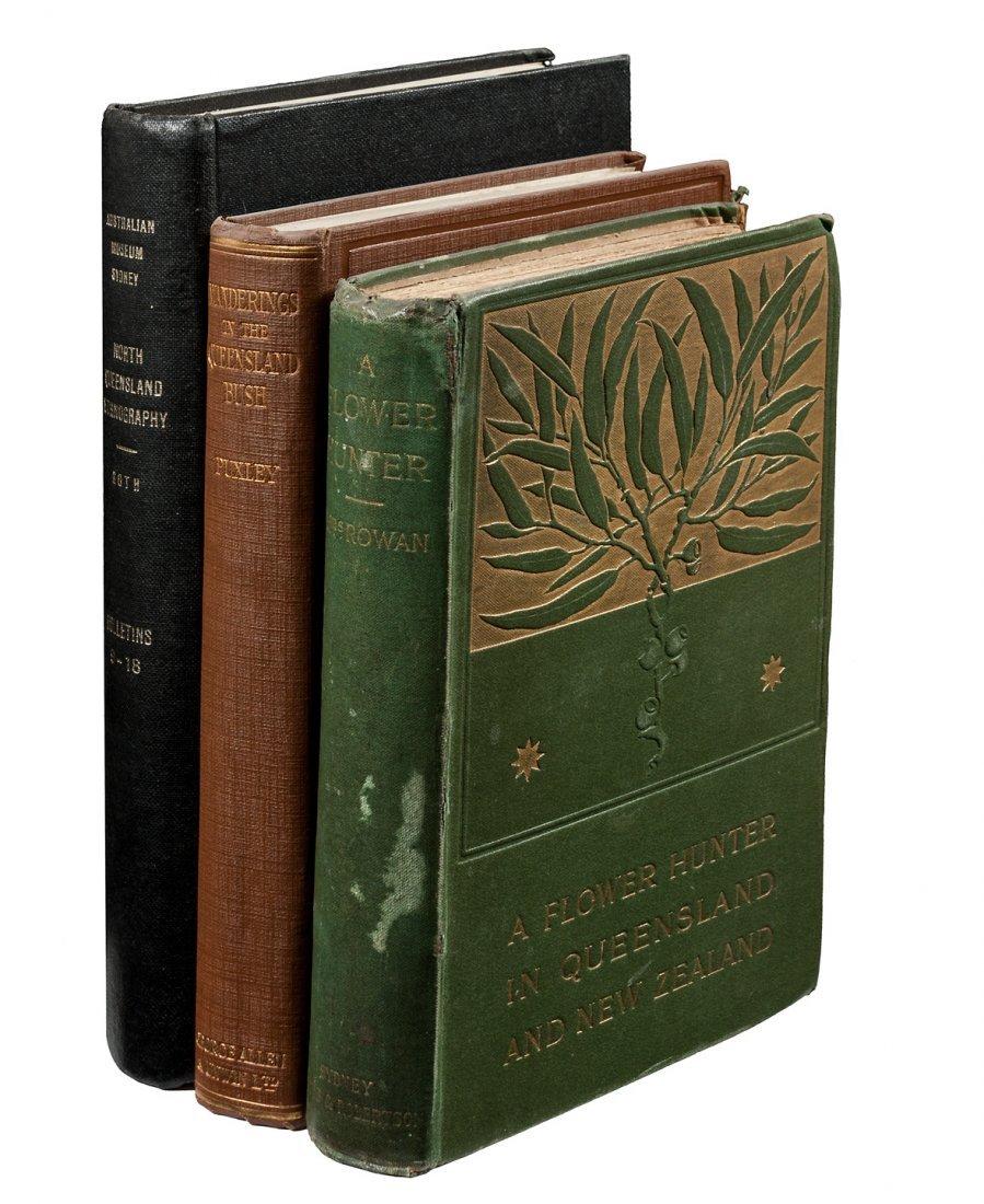 Three volumes on Queensland, Australia