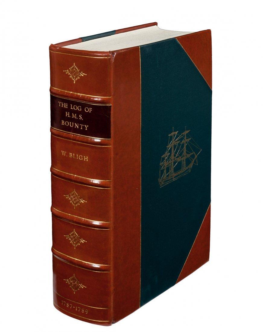Log of H.M.S. Bounty 1787-1789