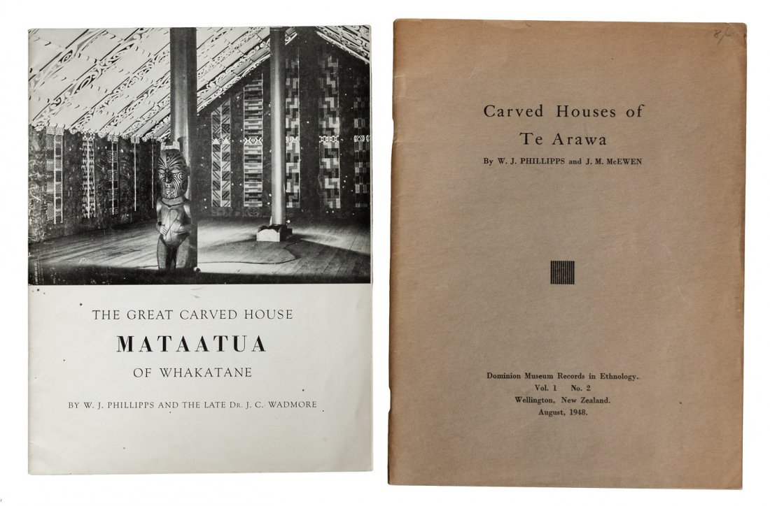 Two volumes about Carved Houses