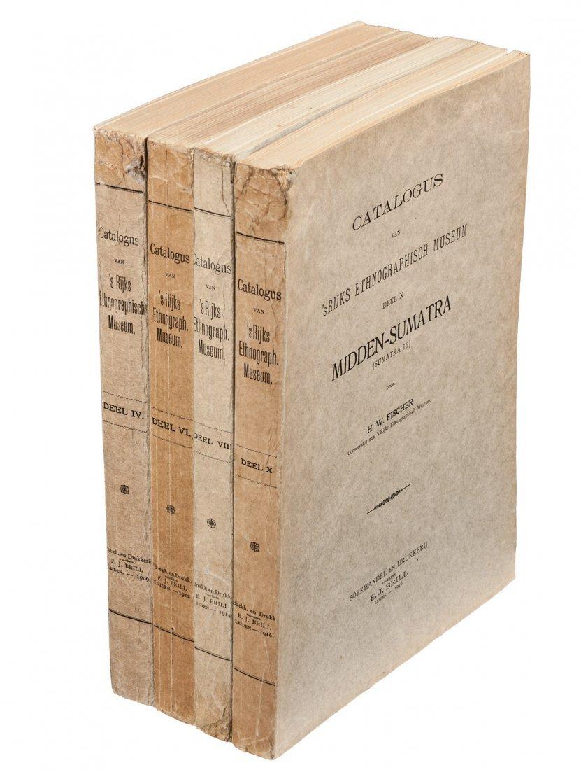 Four works on Sumatra by HW Fischer 1909-16