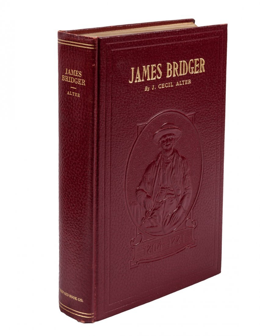 Biography of James Bridger by J. Cecil Alter